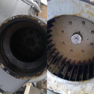 чистка вытяжного вентилятора