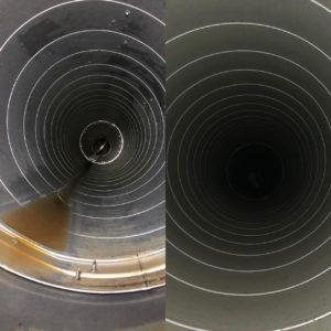 чистка воздуховода